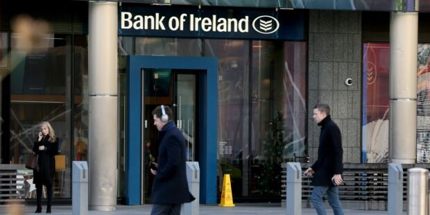 Bank of Ireland negative-interest-rate deposits tripled in 2020