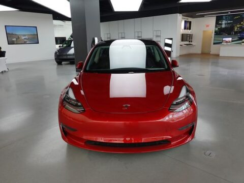 How Cathie Wood's $3,000 Tesla Price Target Compares With the Street