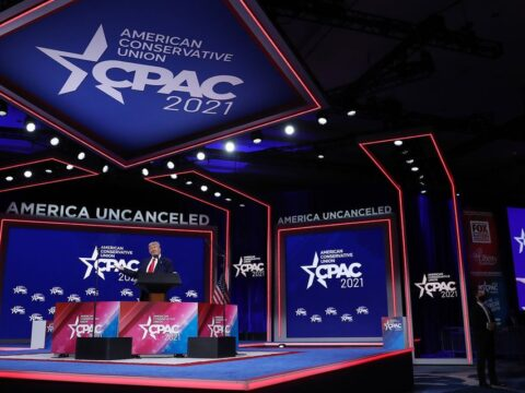 Hyatt condemns symbols and atmosphere at CPAC event in Florida