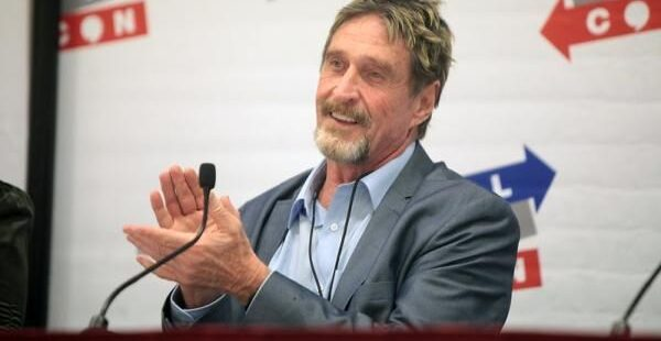 John McAfee Indicted For Cryptocurrency Fraud Schemes