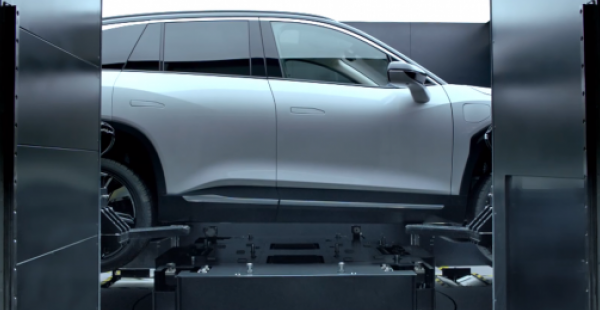 Nio's Second-gen Battery Swap Station To Come In Two Versions: Report