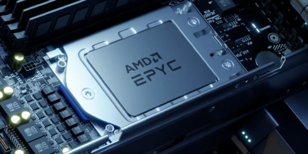 AMD stock rises after earnings show data-center sales more than doubling