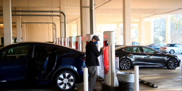Biden infrastructure plan includes pitch for electric-vehicle-purchase rebates