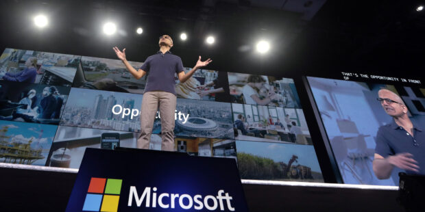 Microsoft beats Q3 revenue expectations on strength of cloud and PC sales