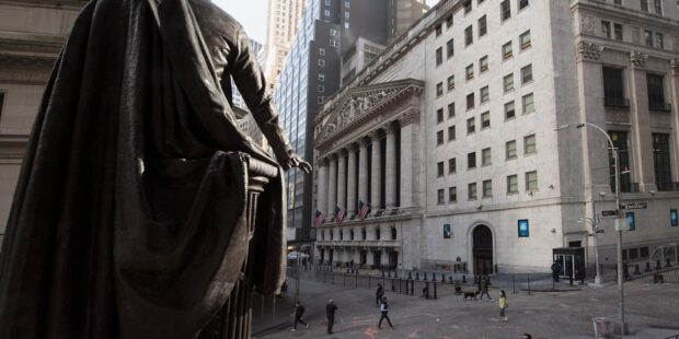 Stock market news live updates: Stock futures pull back from record levels