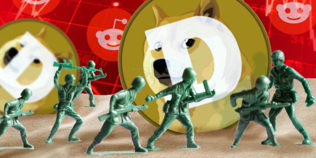 The Dogecoin army tried and failed to drive the crypto to $1
