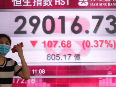 Asian markets fall after disappointing economic data from Japan, China