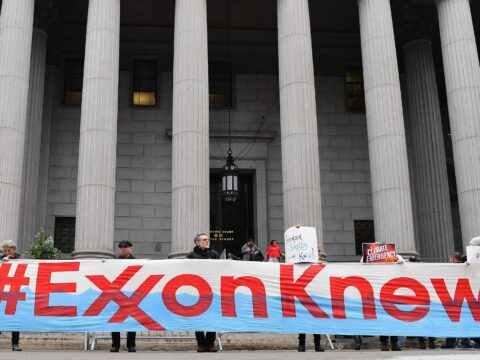 Exxon Mobil shareholder vote a 'watershed' moment for climate change