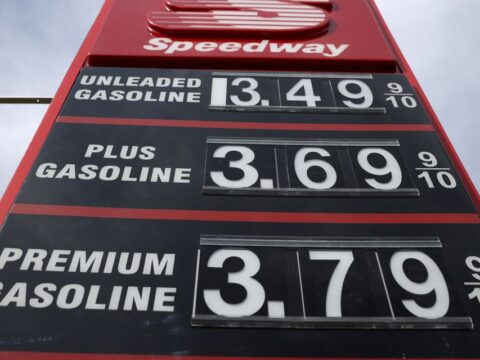 Gas prices are rising after a pipeline hack