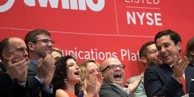 Twilio is still trouncing its own earnings expectations, but this time the stock isn't playing along