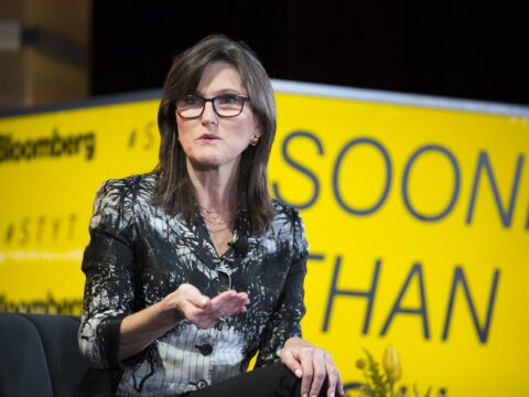 Why Cathie Wood's ARKK Is Still Betting on Coinbase