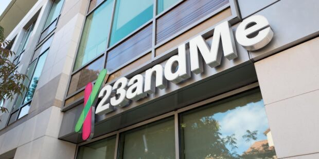 23andMe shares rise 21% on first day of trading on Nasdaq