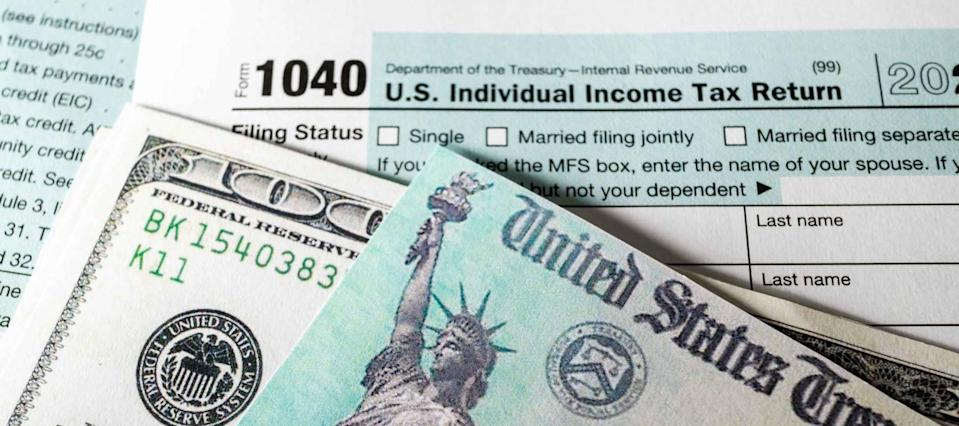A bonus stimulus check may be on the way, thanks to your tax return