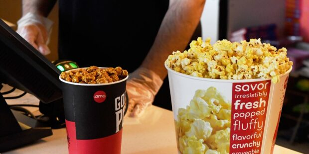 AMC offers new perks for retail investors: free large popcorn