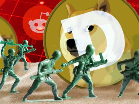 Dogecoin surges more than 30%