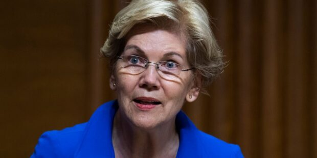 Elizabeth Warren suggests Jeff Bezos is going to space at taxpayers' expense: 'He's laughing at every person in America who actually paid taxes'