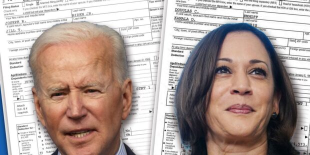 How much income tax will Biden and Harris pay under their proposed hikes? These accountants say they've found an answer