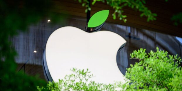 Apple stock is on track for its first record-high close since January