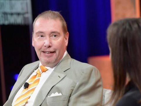 Bond King Jeff Gundlach says there is a simple reason Treasury yields are so low even as inflation surges
