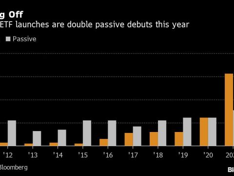 Cathie Wood Is Just a Start as Stock Pickers Storm the ETF World