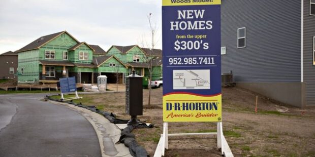 Home Sales and DR Horton Earnings Are Sending the Same Message About the Housing Market
