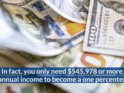 How Much Income It Takes To Be One Of The Top 1% In Your State