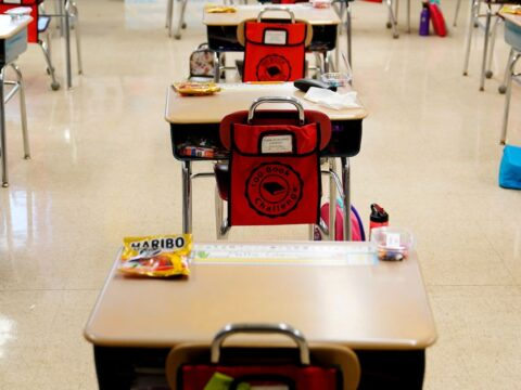 Masks not required for vaccinated teachers and students: CDC
