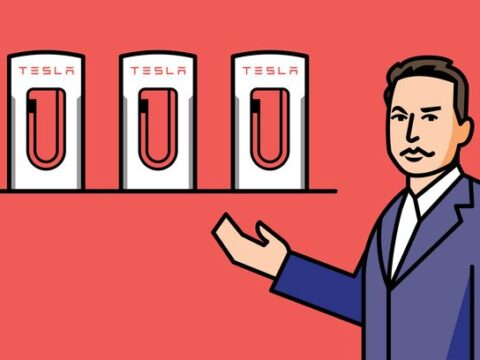 Musk Tweets That Tesla Will Share Its Charging Network. Why That's a Savvy Move.
