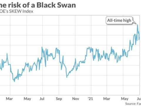 The 'black swan' index hit a record high