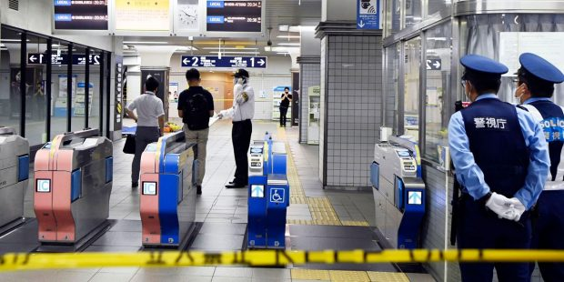 Multiple injuries after knife attack on Tokyo commuter train