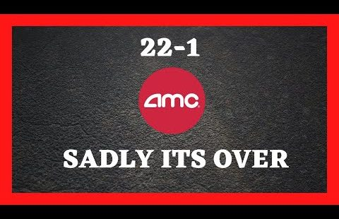 AMC STOCK | APES ITS OVER