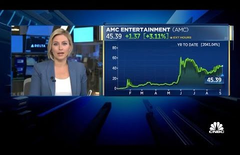 WOW!! CNBC ANALYST JUST SAID THIS ABOUT AMC STOCK!! (BULLISH)