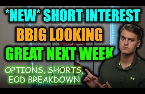 MASSIVE BBIG STOCK UPDATE! This day Was IMPORTANT For Next Week! BBIG Stock Diagnosis + Designate Prediction