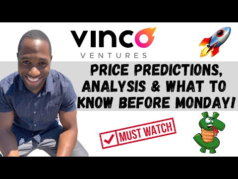 BBIG STOCK (Vinco Ventures)   Price Predictions   Technical Analysis   AND Know This Forward of Monday!