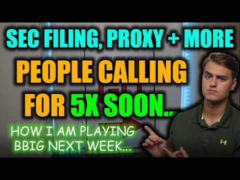 IMPORTANT BBIG STOCK UPDATE! BBIG Proxy Data, BBIG Stock Valuations! BBIG Stock Label Prediction!