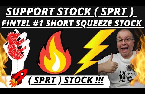 SPRT STOCK RANKED NUMBER 1 SHORT SQUEEZE SCORE FINTEL | SUPPORT STOCK HUGE GAINS