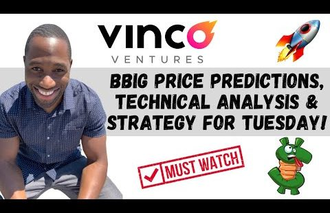 BBIG STOCK (Vinco Ventures) | Ticket Predictions | Analysis | AND Procedure For Tuesday! WATCH ASAP!!