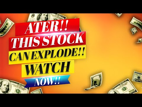 ATER Stock! STOCK CAN EXPLODE TOMORROW!! WATCH FAST!!