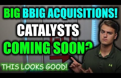 BBIG STOCK UPDATE! These BBIG Acquisitions LOOK GOOD! BBIG Inventory Catalysts + BBIG Inventory Diagnosis