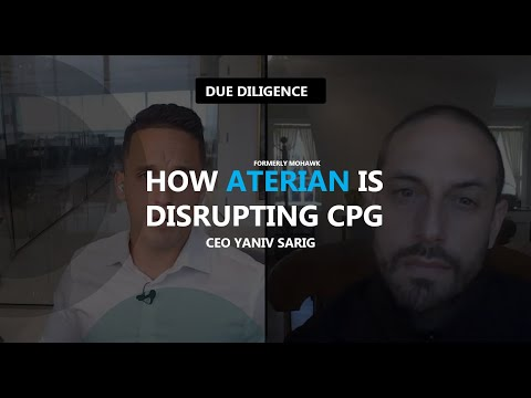 [INDUSTRY TALK] w/ CEO Yaniv Sarig: How Aterian $ATER  (frail Mohawk) is Disrupting CPG