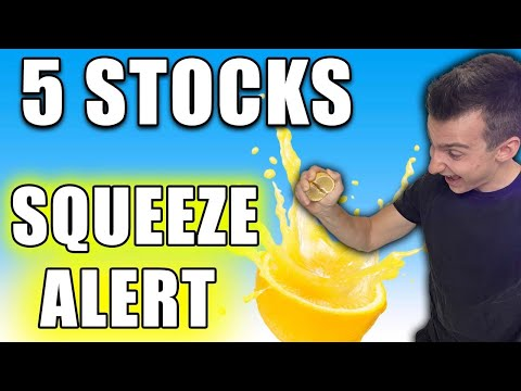 5 STOCKS TO SQUEEZE SHORTS   How To Name A Quick Squeeze Before It Happens 📈