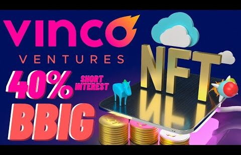 VINCO VENTURES (BBIG) DOING EXACTLY WHAT WE THOUGHT IT WOULD || BBIG BEAUTIFUL BOUNCE OFF SUPPORT