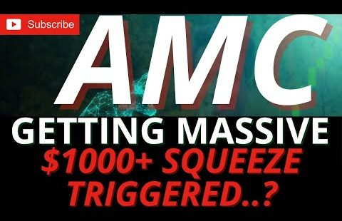 MASSIVE POSSIBILITIES $1000 PLUS,AMC SHORT SQUEEZE,  GAMMA SQUEEZE FOR AMC STOCK. BE READY