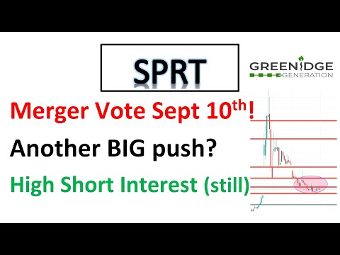 #SPRT 🔥 Merger vote this week Sept tenth 🔥 Is it the backside sooner than the next squeeze? Mark evaluation🔥