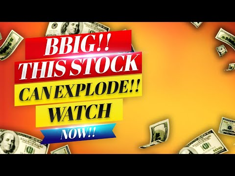 BBIG Stock! THIS STOCK CAN EXPLODE TUESDAY!! 🚀 WATCH ASAP!!