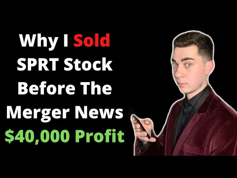 Why I Sold SPRT Inventory $40,000 Earnings   Sell The Records Following Merger