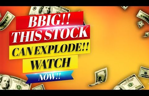 BBIG Stock! THIS STOCK CAN EXPLODE MONDAY!! 🚀 WATCH ASAP!!