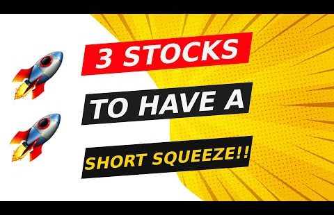 3 STOCKS TO HAVE A SHORT SQUEEZE!! 🚀 WHAT I AM DOING!! 🔥 WATCH FAST!!