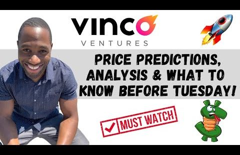 BBIG STOCK (Vinco Ventures)   Payment Predictions   Technical Diagnosis   AND Know This Sooner than Tuesday!