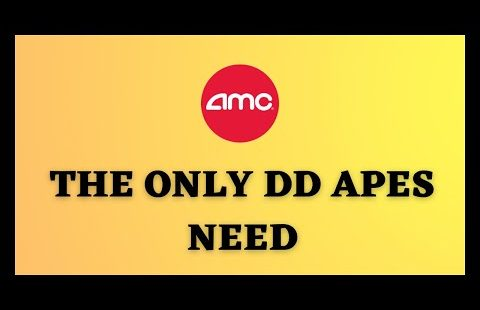 AMC STOCK | APES THE ONLY DD YOU NEED ITS OVER